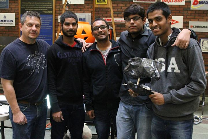 Second Place: Ashish, Phani, Siddarth and Vivek