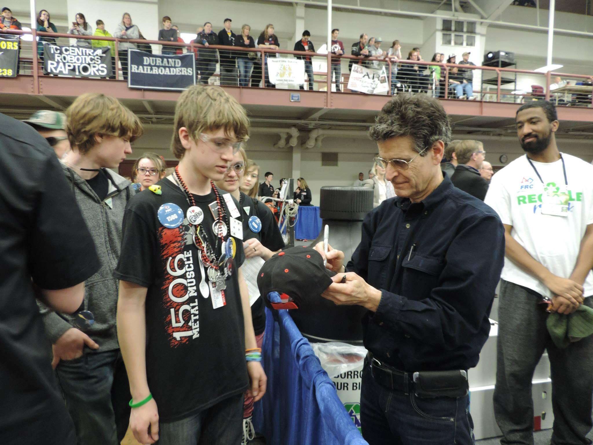 Meeting Dean Kamen