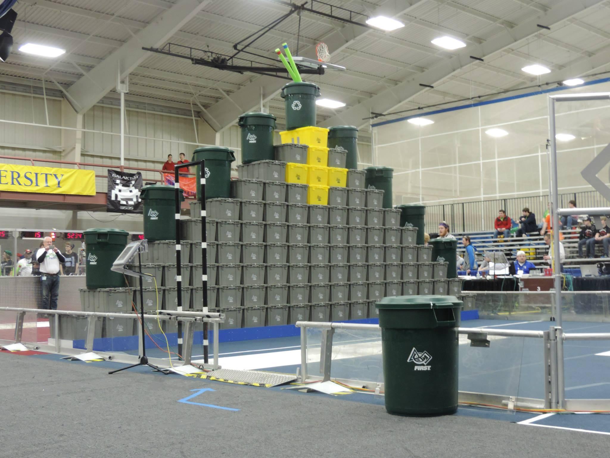 Tote pyramid