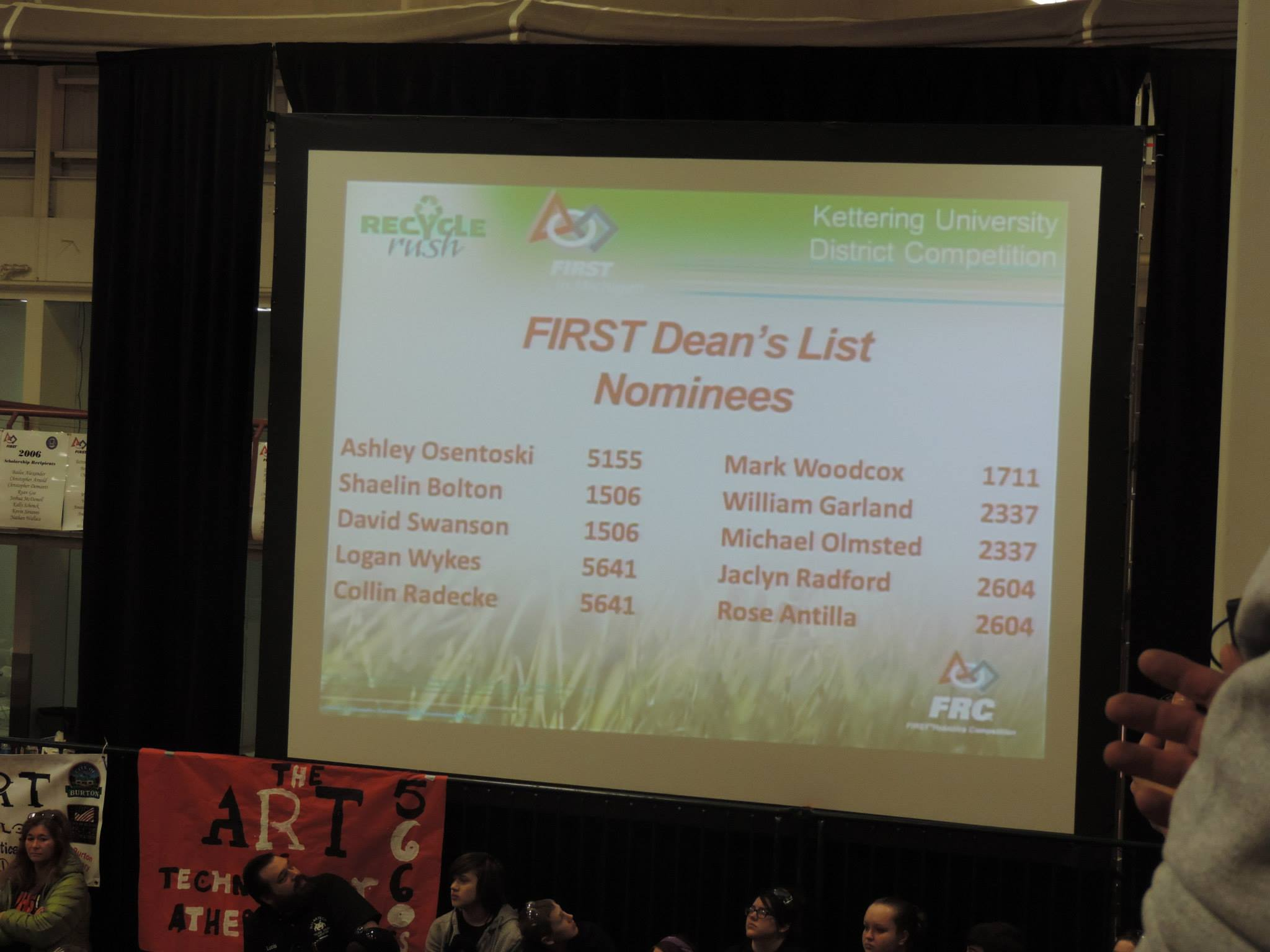 Way to go Deans list Nominees